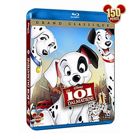 Blu-ray 101 Dalmatiens