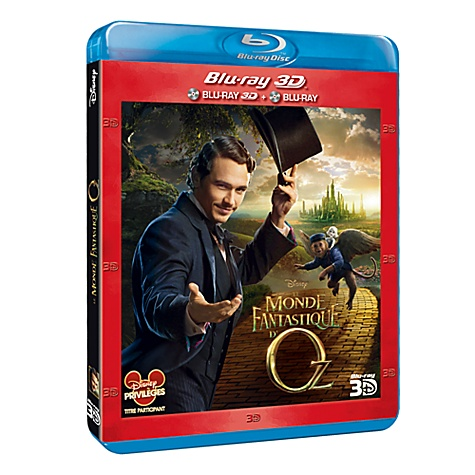 Blu-Ray 3D Le Monde Fantastique d'Oz