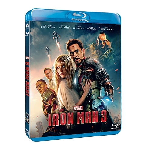 Blu-ray Iron Man 3