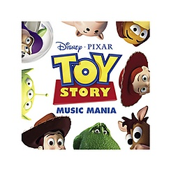 CD Toy Story Music Mania