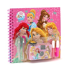 Set estival album et appareil photo Princesses Disney