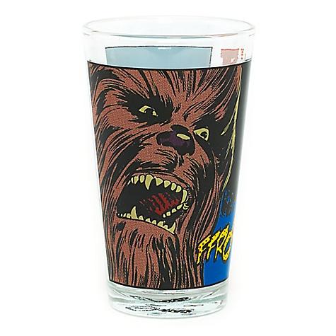 Gobelet fantaisie en verre Chewbacca, de Star Wars