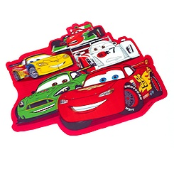 Set de table en relief Disney Pixar Cars