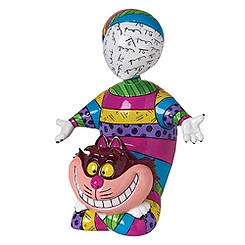 Figurine chat du Cheshire par Britto