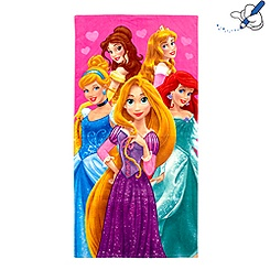 Serviette de plage Princesses Disney