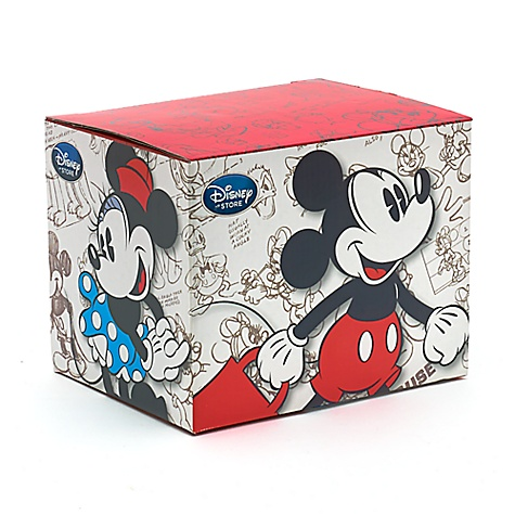Boîte cadeau Mickey et Minnie Mouse pour mug