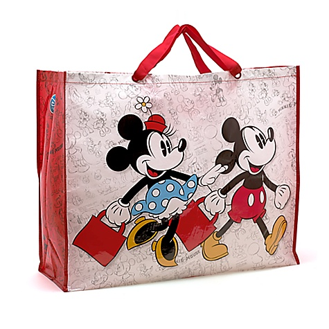 Sac shopping Mickey et Minnie, très grande taille