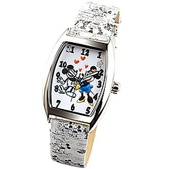Montre tonneau Mickey et Minnie Ingersoll Classic Time