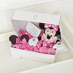 Coffret cadeau déguisement personnalisé pour bébé Minnie Mouse