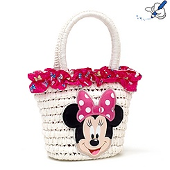 Sac en paille Minnie