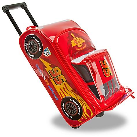 Valise à roulettes sonore Cars