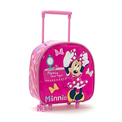 Valise à roulettes Minnie Mouse