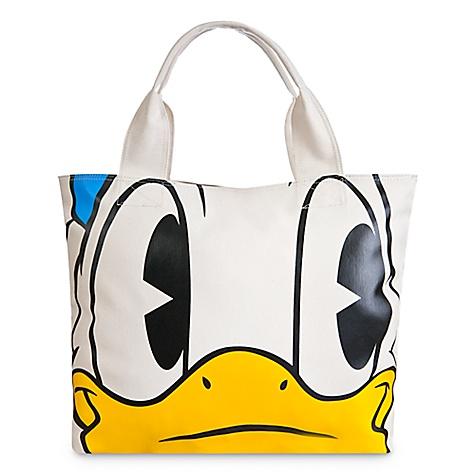 Sac fourre-tout visage et pieds Donald Duck