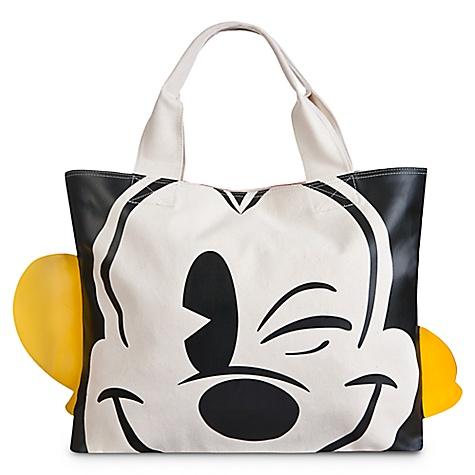 Sac fourre-tout visage et pieds Mickey Mouse