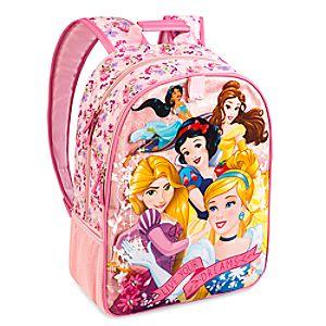 Sac à dos pailleté Princesses Disney