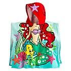 Serviette à capuche La Petite Sirène pour enfants