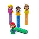 Ensemble de baumes à lèvre colorés Princesses Disney