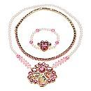 Parure colliers et bracelet Princesses Disney