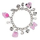 Bracelet à breloques Minnie Mouse