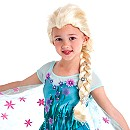 Perruque Elsa de La Reine des Neiges