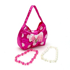 Ensemble sac et bijoux Minnie Mouse