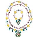 Parure de bijoux La Reine des Neiges: Une Fête Givrée, collier et un bracelet