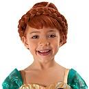 Perruque de déguisement Anna, La Reine des Neiges