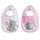 Lot de 2 bavoirs Dumbo Layette pour bébé