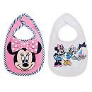 Lot de 2 bavoirs Minnie Mouse pour bébés