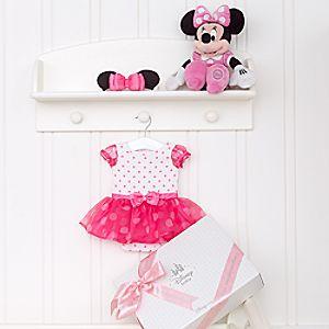 Ensemble cadeau personnalisé pour bébé Minnie Mouse