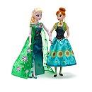 Ensemble de poupées Elsa et Anna de La Reine des Neiges:une Fête Givrée
