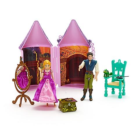 Ensemble mini château Raiponce