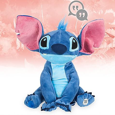 Peluche interactive Stitch, Collection Disney Animators