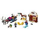 Ensemble LEGO Aventure en Traineau d'Anna et de Kristoff