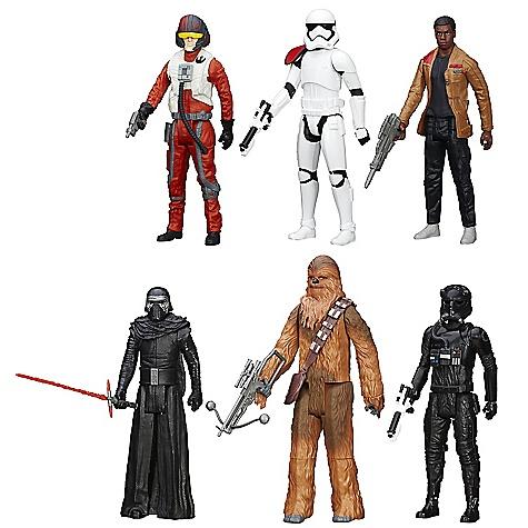 Ensemble de figurines Titan de 28 cm Star Wars : Le Réveil de la Force