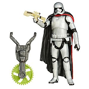 Figurine 9,5 cm Star Wars : Le Réveil de la Force Captain Phasma Mission Forêt