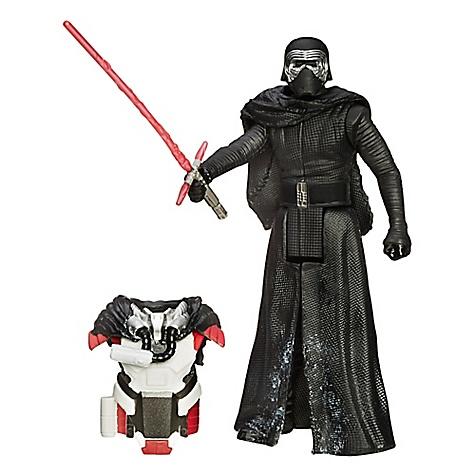 Figurine 9,5 cm Star Wars: Le Réveil de la Force Kylo Ren en armure Mission Neige