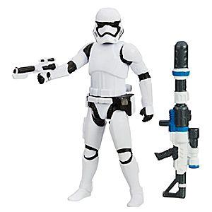 Figurine de Stormtrooper du Premier Ordre, Snow Mission, Star Wars Le Réveil de la Force de 9,5 cm