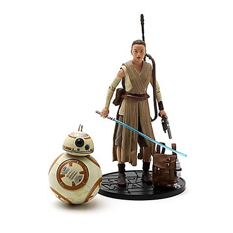 Figurines miniatures de 15 cm, série Elite Star Wars, Rey et BB-8