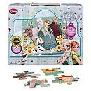 Puzzle 64 pièces La Reine des Neiges: une Fête Givrée