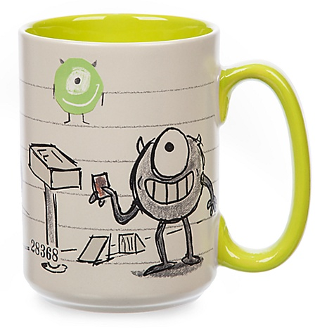 Mug Bob de Monstres & Cie façon croquis