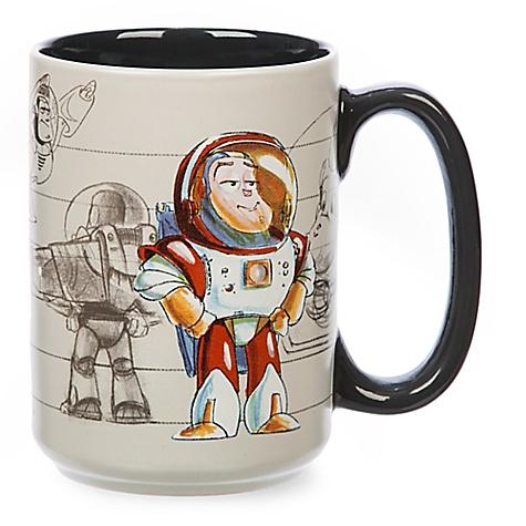 Mug Buzz l'Éclair de ToyStory façon croquis