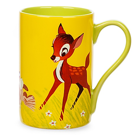 Mug Bambi et PanPan style rétro