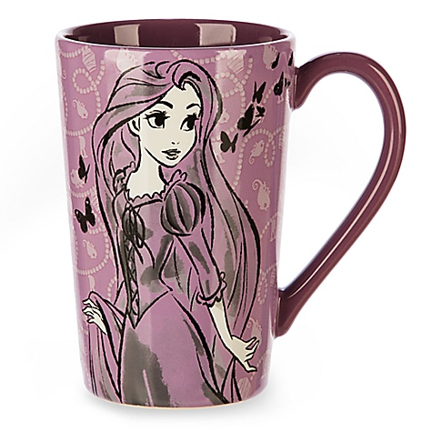 Mug Raiponce façon esquisse
