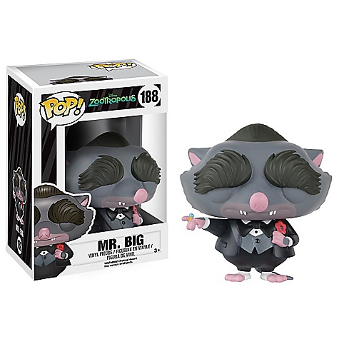 Mr Big Pop ! Figurine Zootopie Funko en vinyle
