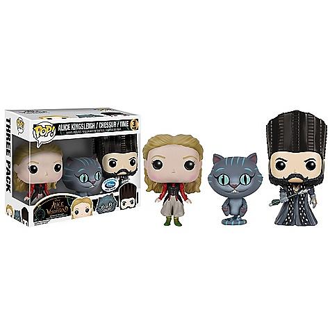Pop ! Alice au Pays des Merveilles Ensemble de 3 figurines Funko en vinyle