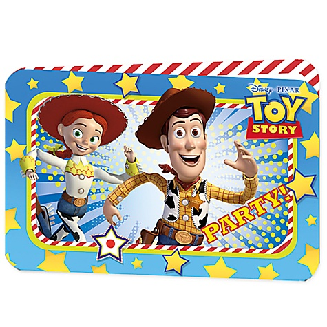 Ensemble de 6 invitations de fête Toy Story