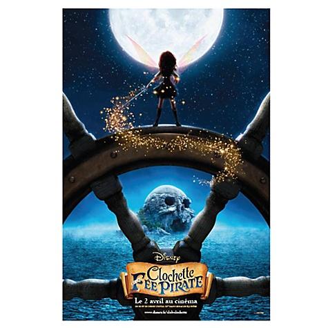 Poster Clochette et la Fée Pirate
