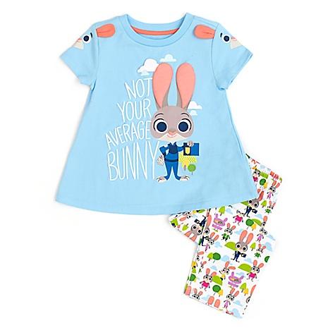 Pyjama Premium Zootopie pour enfants-3 ans