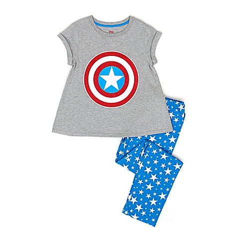 Pyjama Premium Captain America de Marvel pour enfants-11-12 ans